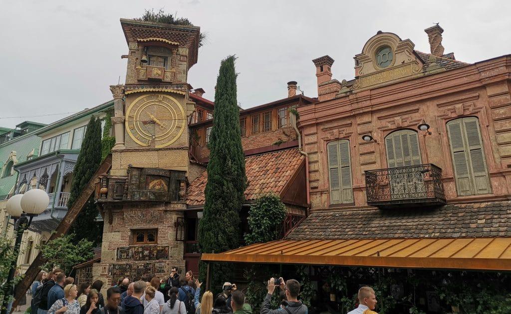 Georgien Tiflis Altstadt