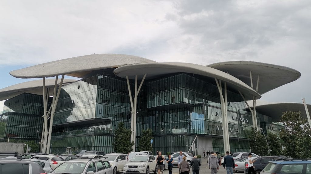Georgien Tiflis Rathaus