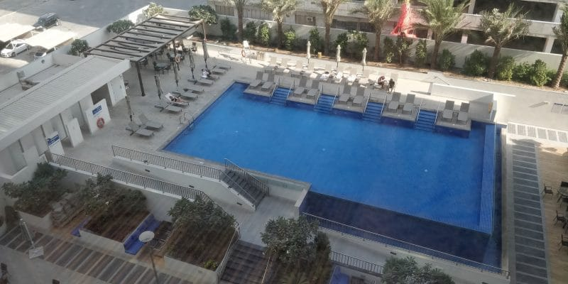 Hampton By Hilton Dubai Airport Pool 2