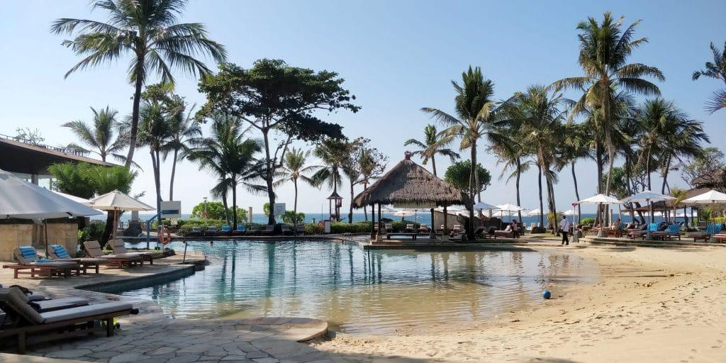 Hilton Bali Resort Pool 13