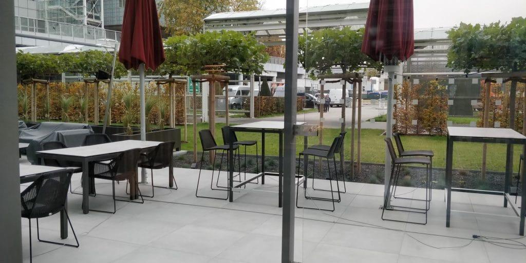 Hilton München Airport Executive Lounge 3