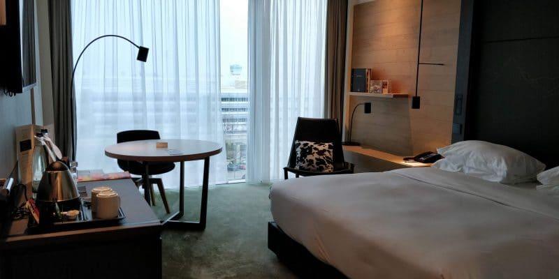 Hilton München Airport Zimmer 2