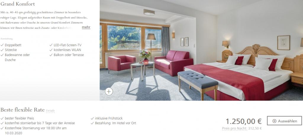 Hotel Traube Tonbach Grand Komfort