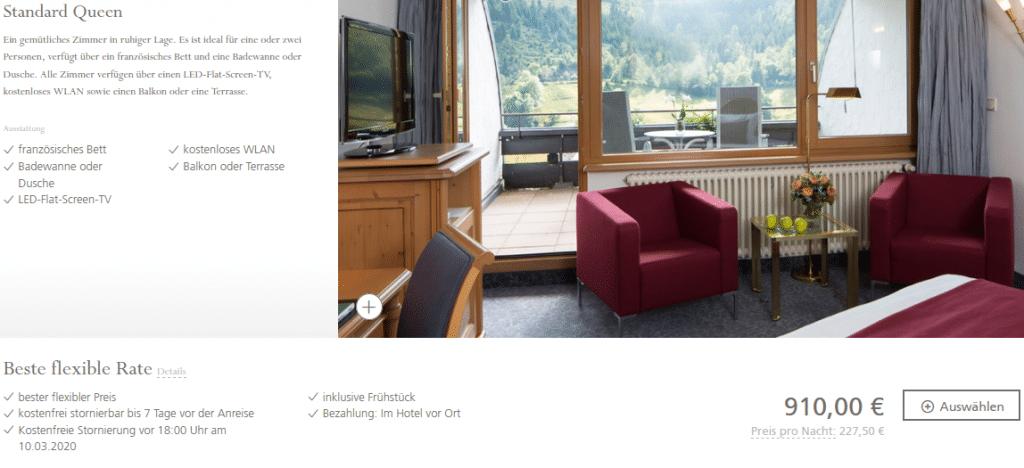 Hotel Traube Tonbach Standard Queen3