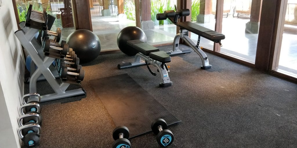 Hyatt Regency Bali Fitness 2