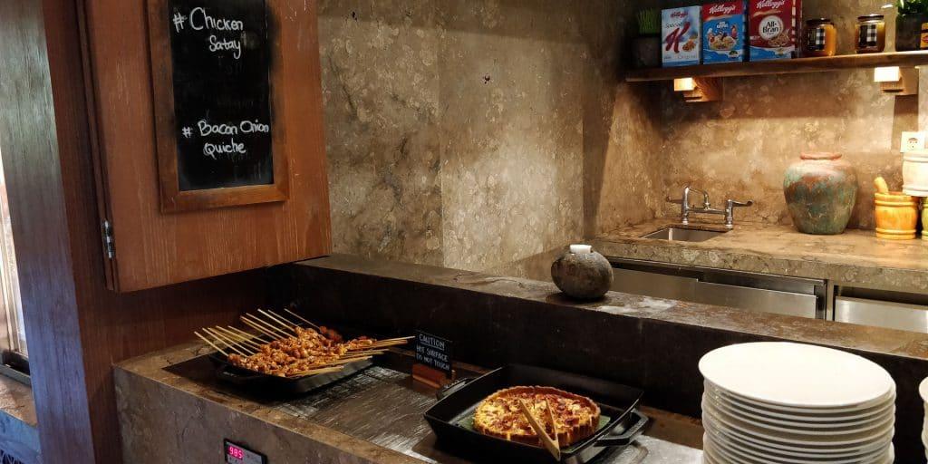 Hyatt Regency Bali Lounge Abendessen 2