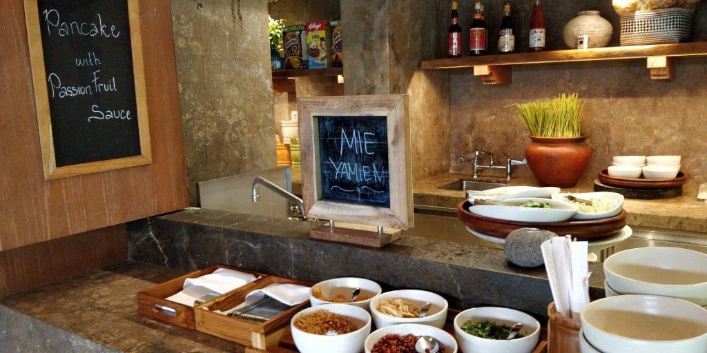 Hyatt Regency Bali Lounge Frühstück 6