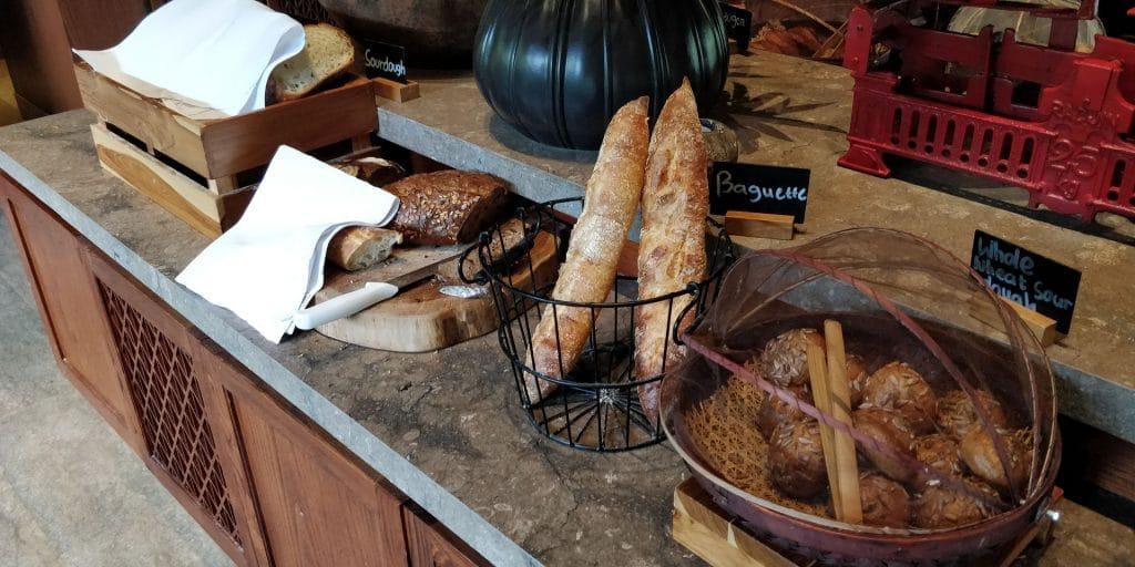 Hyatt Regency Bali Lounge Frühstück 8