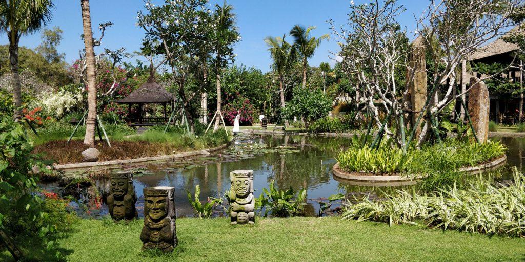 Hyatt Regency Bali Spa Gelände 4