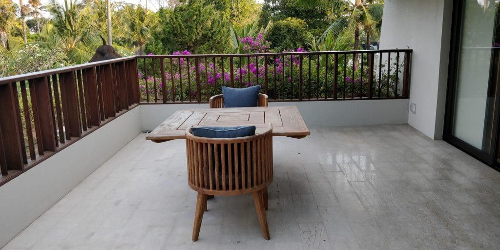 Hyatt Regency Bali Suite Balkon