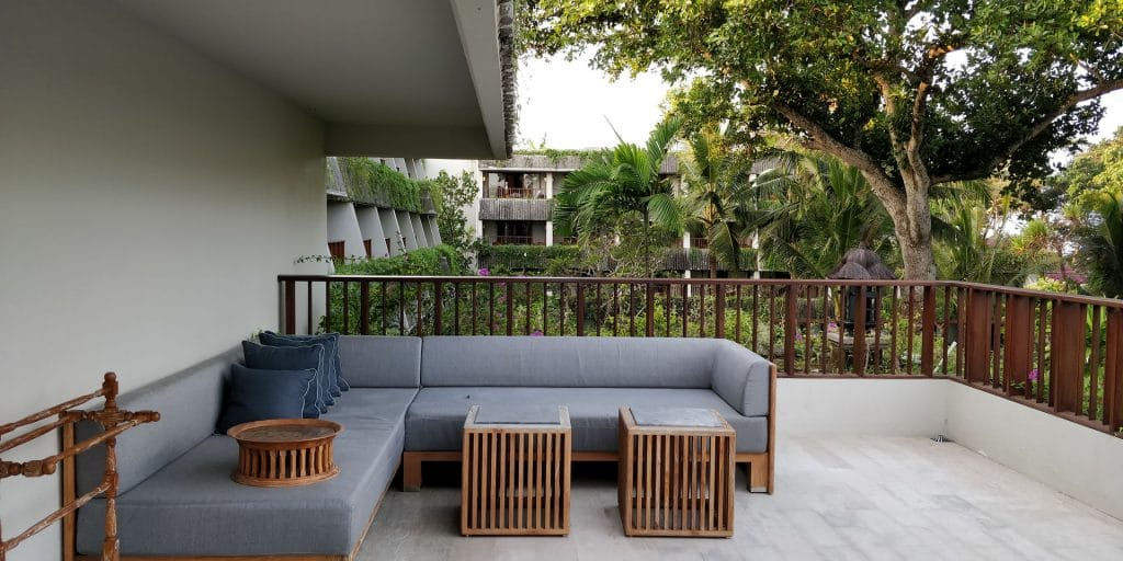 Hyatt Regency Bali Suite Balkon 2