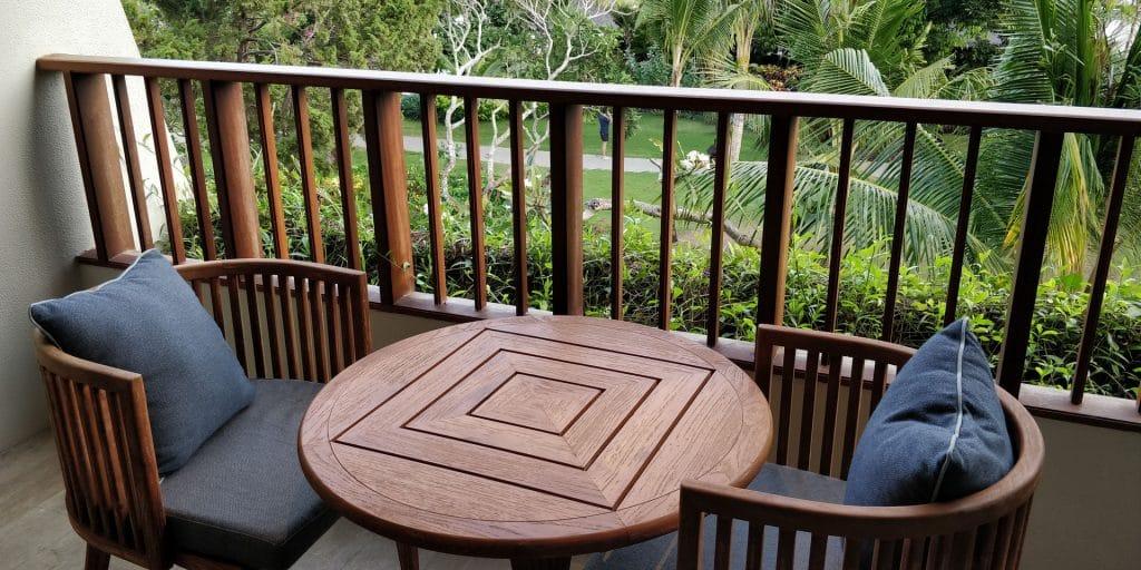 Hyatt Regency Bali Suite Balkon 3