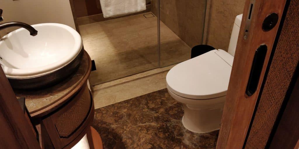 Hyatt Regency Bali Suite Gästebad