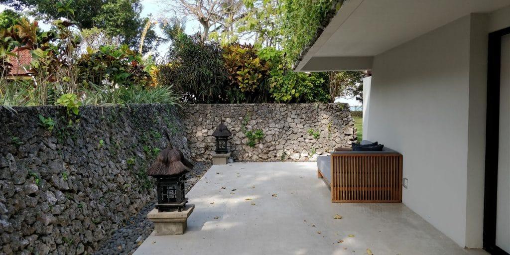Hyatt Regency Bali Suite Terrasse