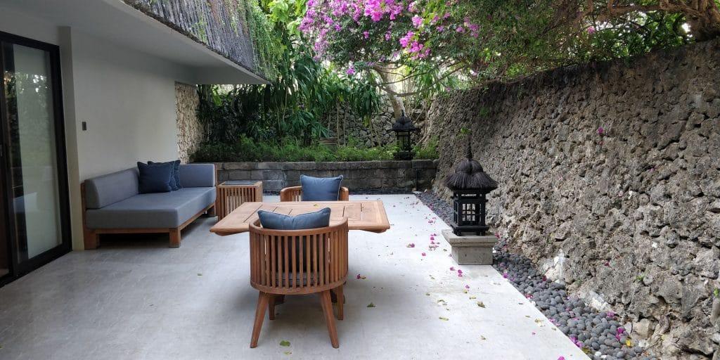 Hyatt Regency Bali Suite Terrasse 5