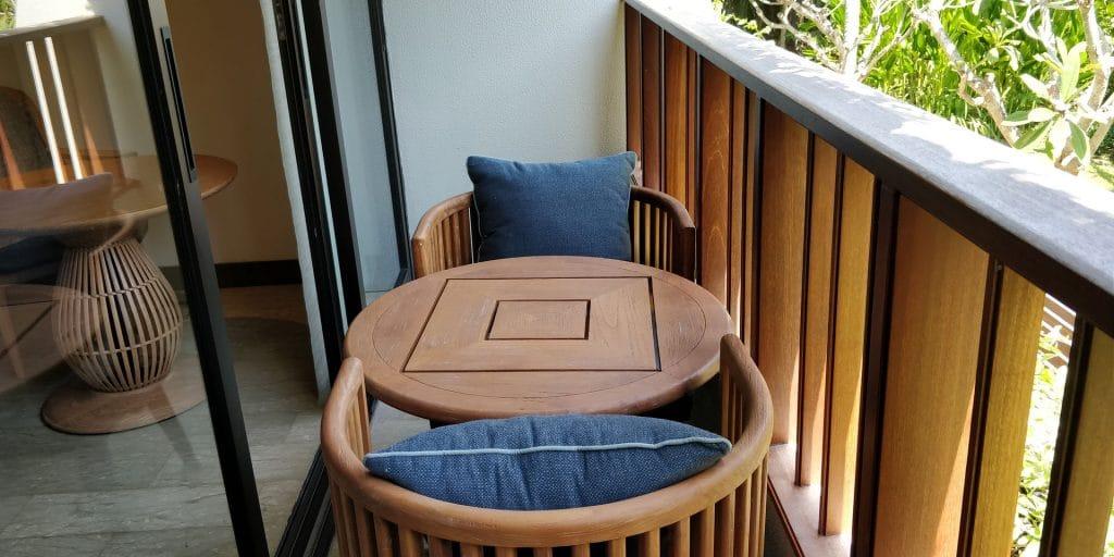 Hyatt Regency Bali Zimmer Balkon