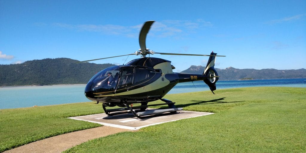 InterContinental Hayman Island Helicopter