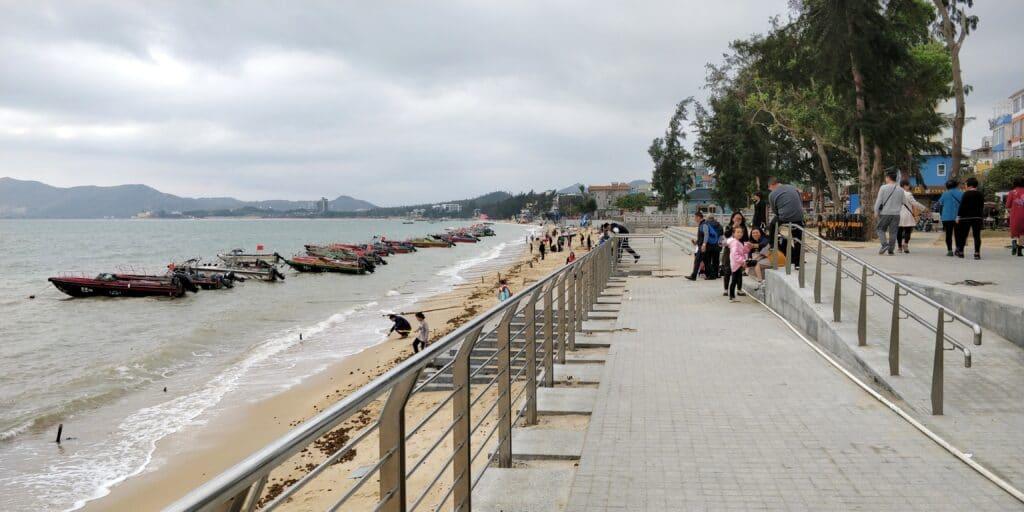 Jiaongchangwei Beach Shenzhen