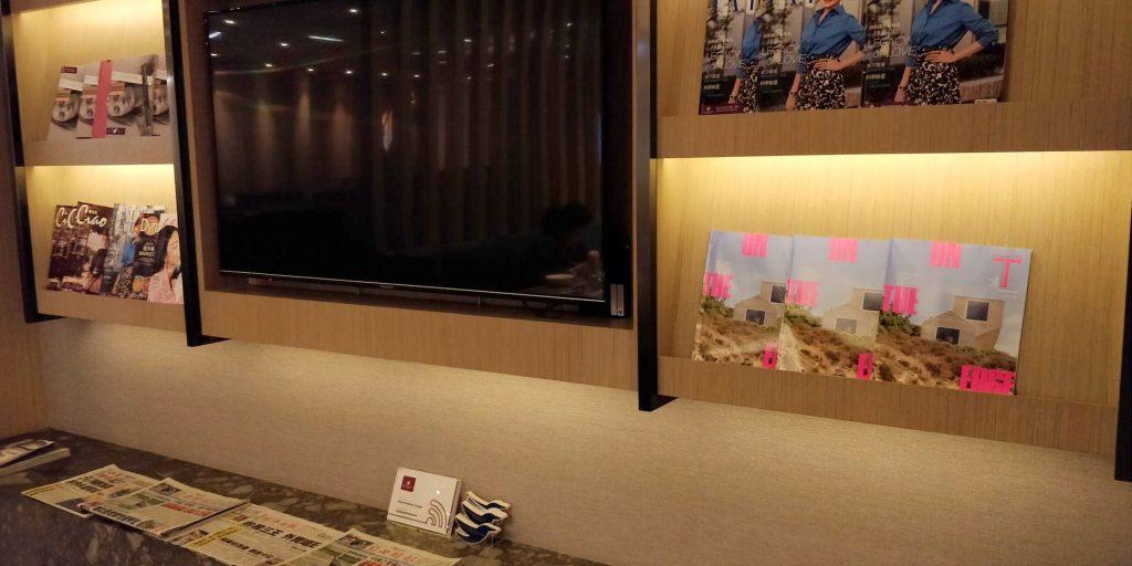 Plaza Premium Lounge Taipeh Terminal 1 Entertainment