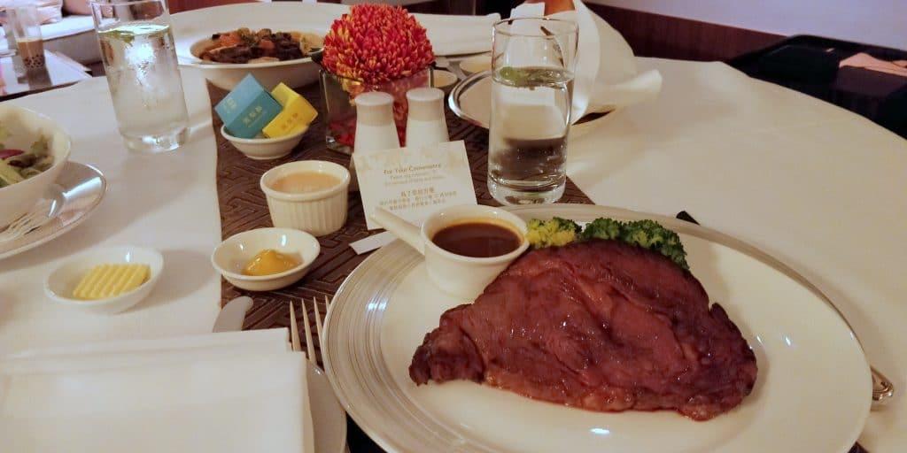 Shangri La Taipeh Room Service