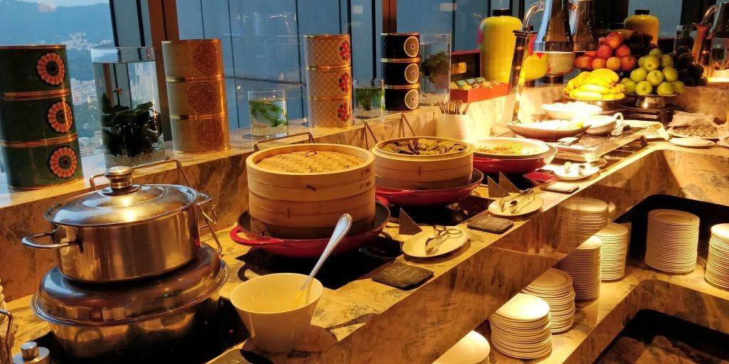 Shangri La's Far Eastern Plaza Taipeh Lounge Abendessen 2