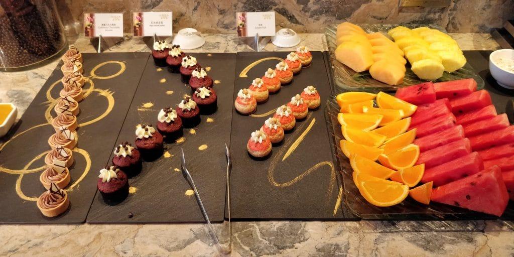 Shangri La's Far Eastern Plaza Taipeh Lounge Abendessen 3