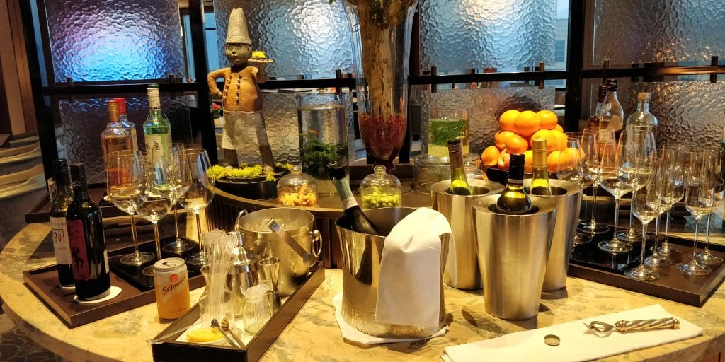 Shangri La's Far Eastern Plaza Taipeh Lounge Abendessen 5