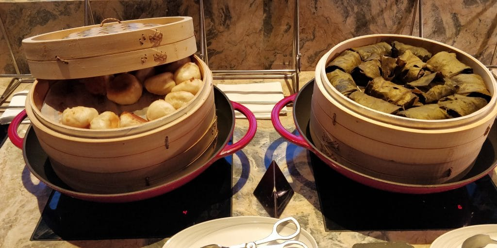 Shangri La's Far Eastern Plaza Taipeh Lounge Abendessen 6