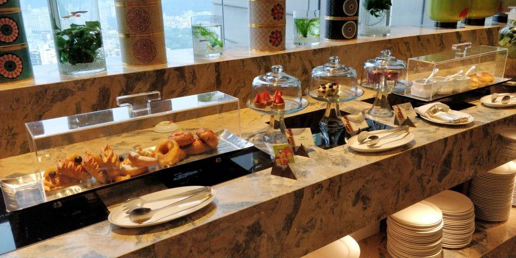 Shangri La's Far Eastern Plaza Taipeh Lounge Afternoon Tea