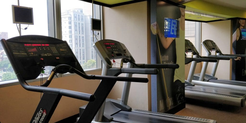 Shangri La's Far Eastern Plaza Taipeh Lounge Fitness 2