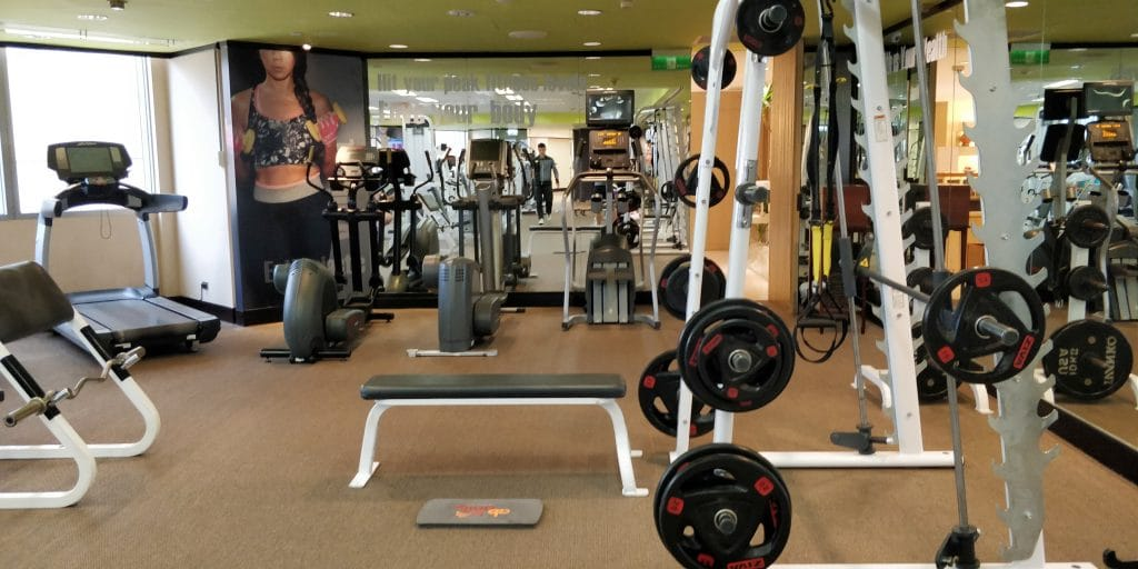 Shangri La's Far Eastern Plaza Taipeh Lounge Fitness 3