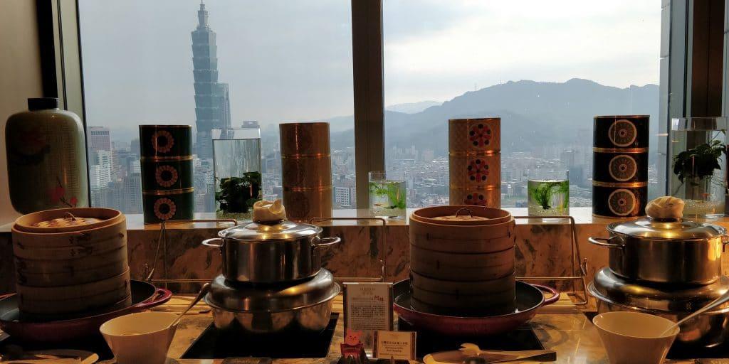 Shangri La's Far Eastern Plaza Taipeh Lounge Frühstück 5