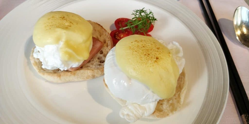 Shangri La's Far Eastern Plaza Taipeh Lounge Frühstück 9