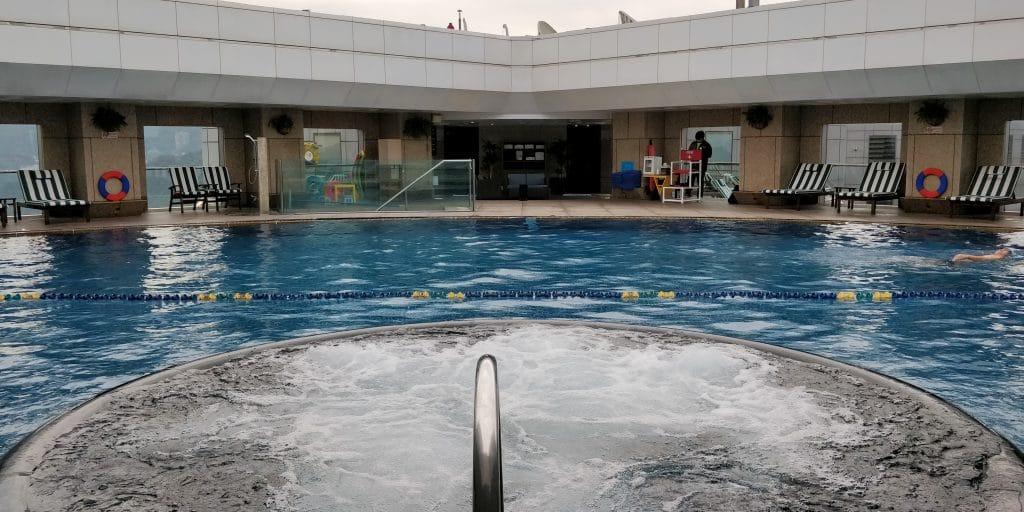 Shangri La's Far Eastern Plaza Taipeh Pool 2
