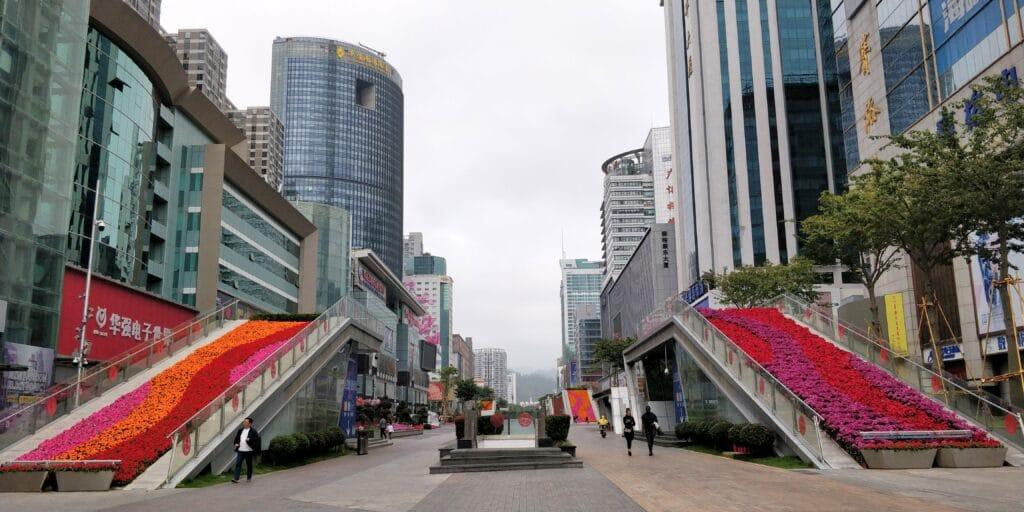 Shenzhen Huaqiangbai Commercial Street