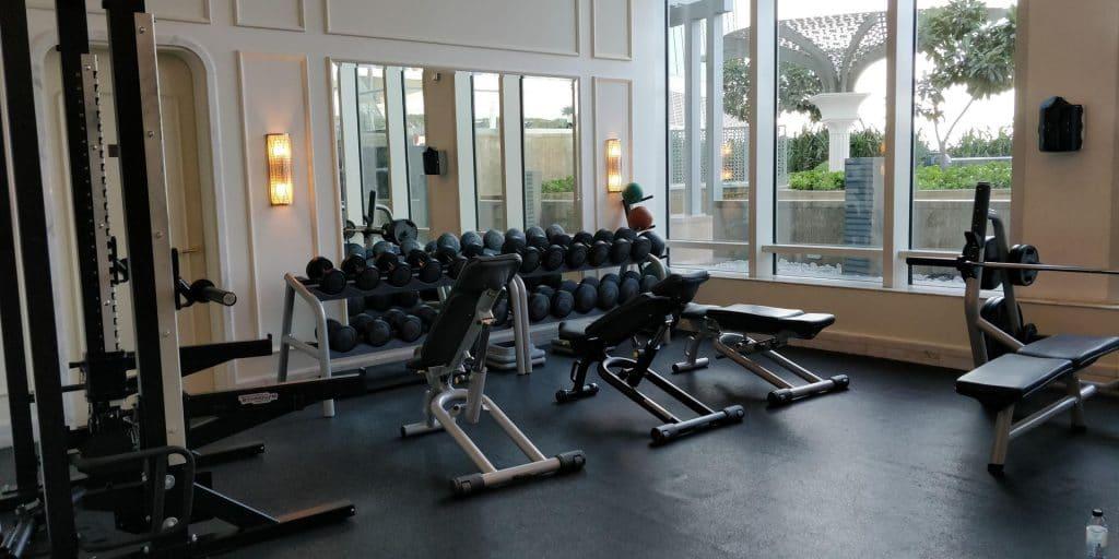 St. Regis Abu Dhabi Fitness Erholung 1