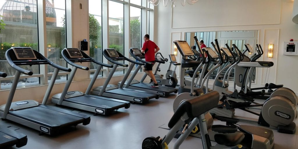 St. Regis Abu Dhabi Fitness Erholung 2