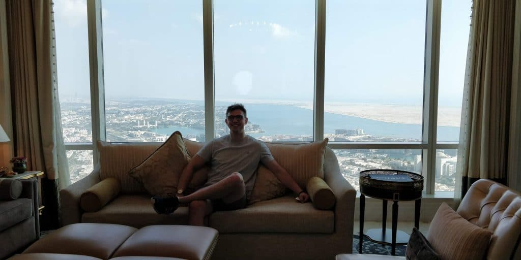 St. Regis Abu Dhabi Zimmer 1