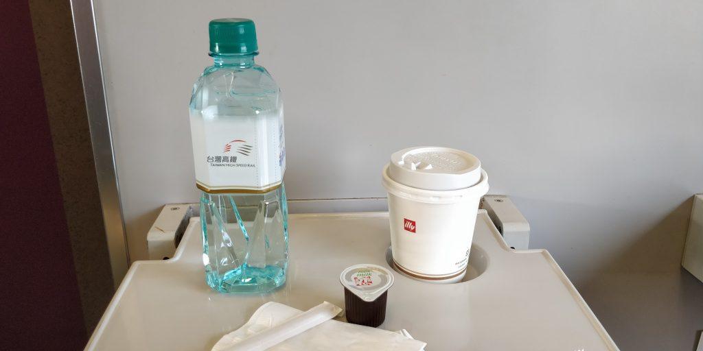 Taiwan Schnellzug Erste Klasse Verpflegung 4
