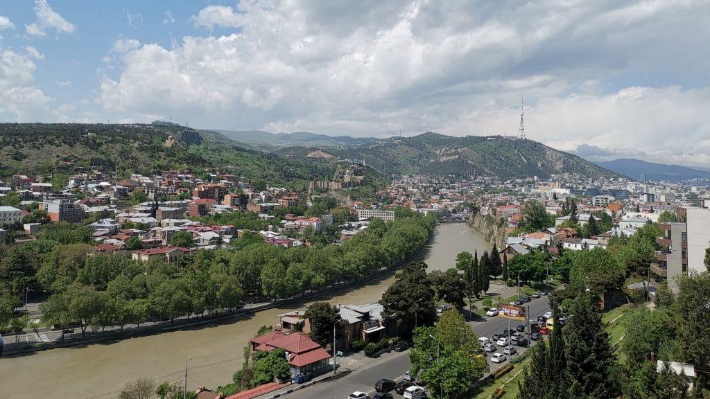 Tiflis Georgien Panorama