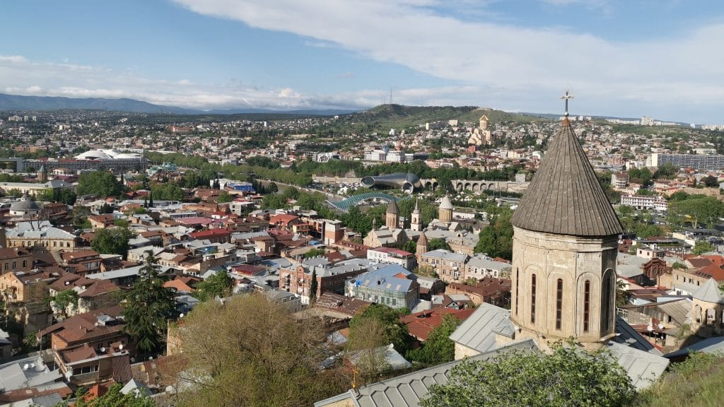 Tiflis Georgien Panorama (2)