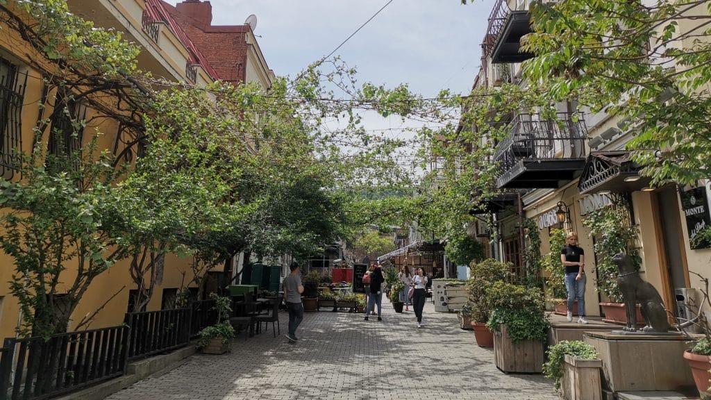 Tiflis Georgien Stadt Essen