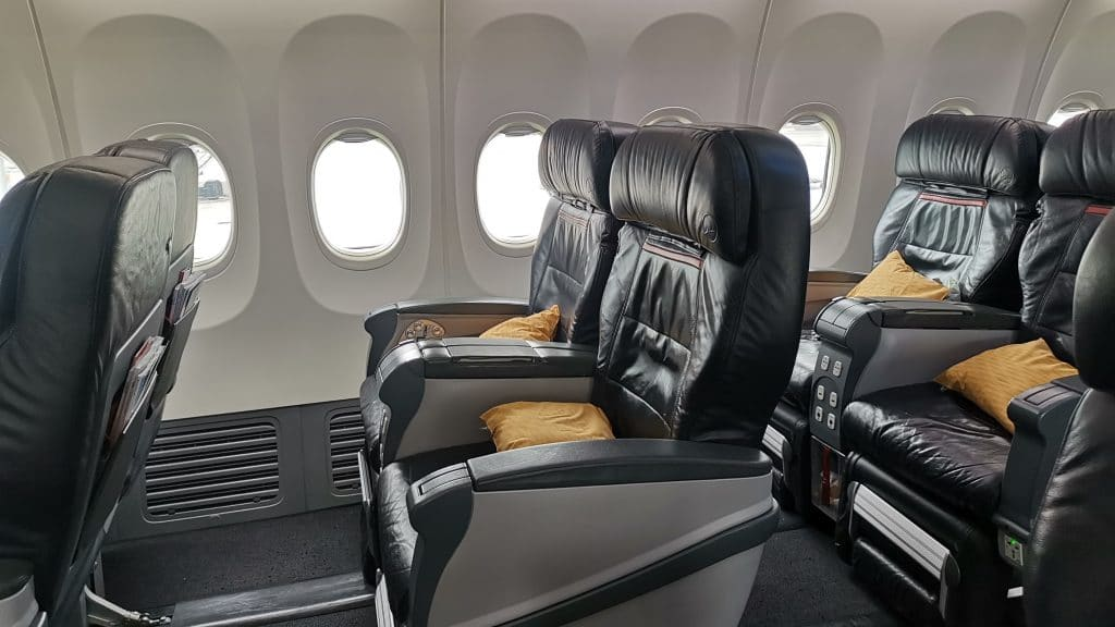 Turkish Airlines Regional Business Class