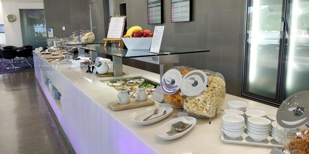 Virgin Australia Lounge Cairns Buffet