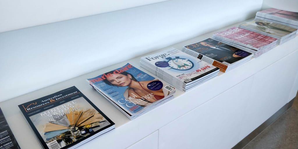 Virgin Australia Lounge Cairns Magazine