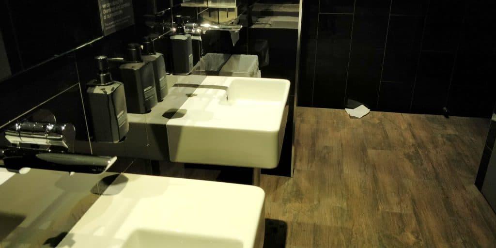 Virgin Australia Lounge Cairns Toilette