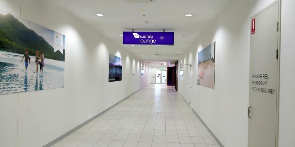 Virgin Australia Lounge Cairns Weg
