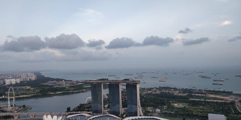 1 Altitude Singapur Ausblick 1