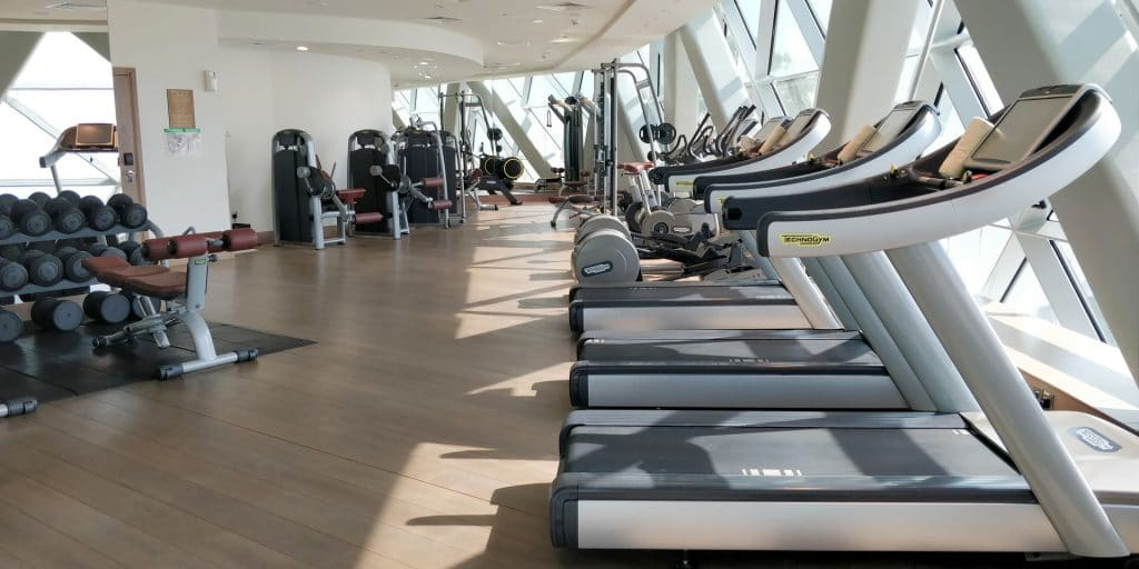 Andaz Capital Gate Abu Dhabi Fitness 2