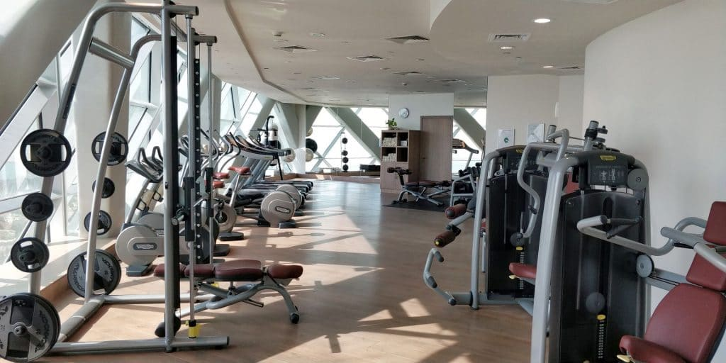 Andaz Capital Gate Abu Dhabi Fitness 3